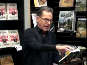 Photo Reading from Nickel Bay Nick at Book Soup Bookstore in Hollywood